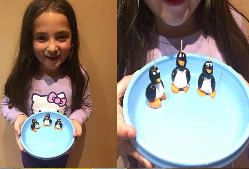 """Concurso Minichef, Carla Contreras """"Los Pingüinos"""""""